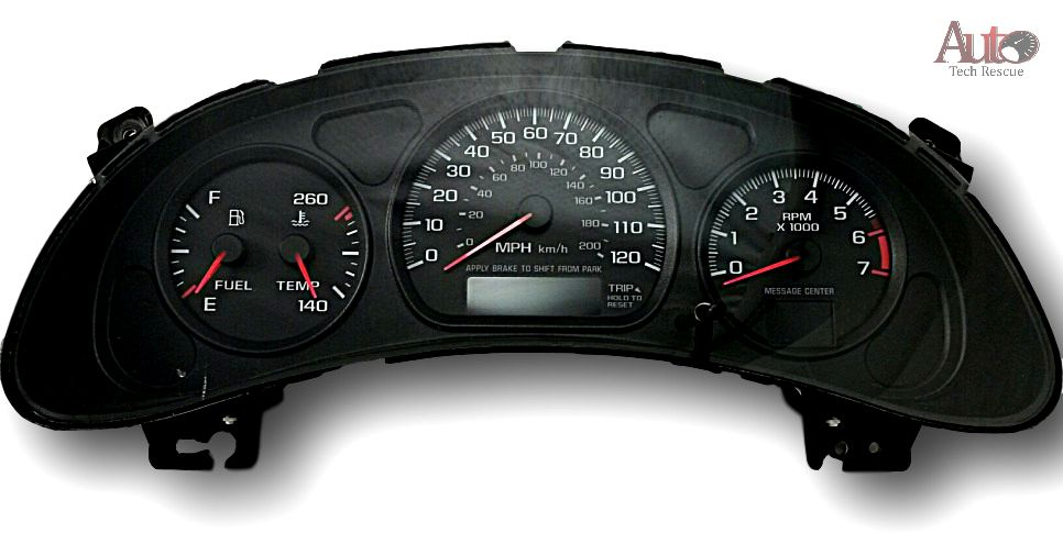 Chevy Monte Carlo Instrument Cluster Repair