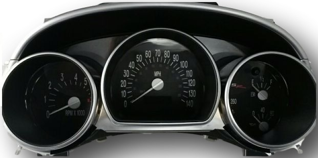 Chevy SSR Instrument Cluster Repair